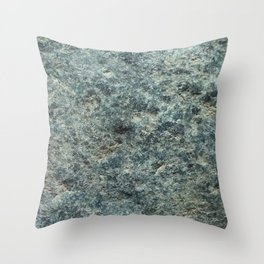 Raw weathered Pounamu Throw Pillow