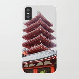 Japanese Pagoda iPhone Case