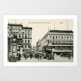 1900s Berlin Unter Den Linden Art Print
