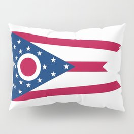 Ohio State Flag Pillow Sham