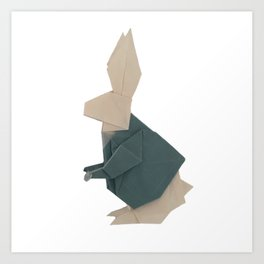 The Rab origami Art Print