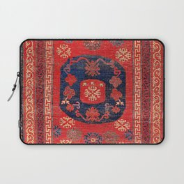 Khotan East Turkestan 18th Century Carpet Print Laptop Sleeve