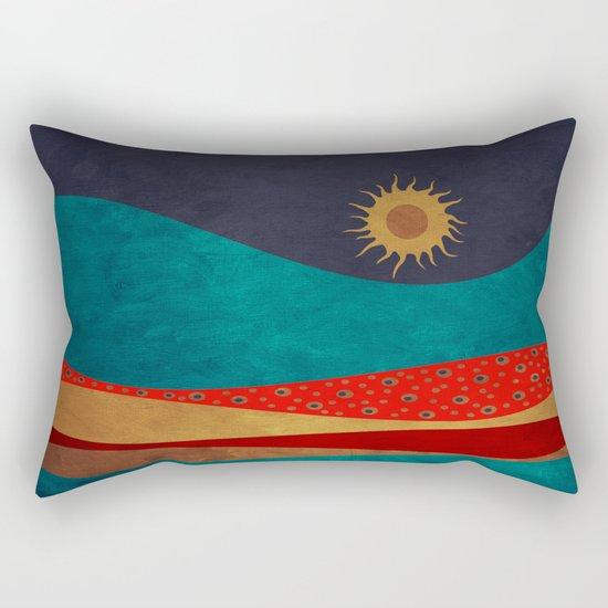 color under the sun Rectangular Pillow