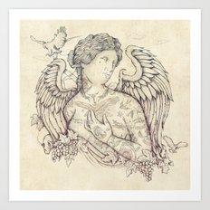 Lost in Heaven Art Print
