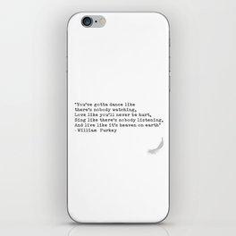 Quotes 5 iPhone Skin