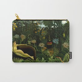 Henri Rousseau - The Dream Carry-All Pouch