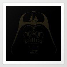 Dark Darth  Art Print