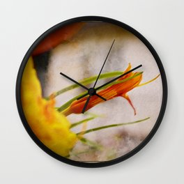 Dawn Lily Wall Clock