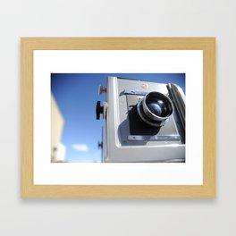 4X5 Rail Camera Framed Art Print