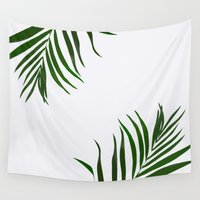 fern Wall Tapestries featuring Fern by Tamsin Lucie