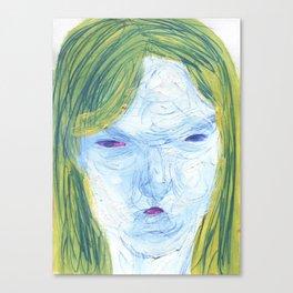potato portrait Canvas Print