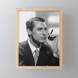 Cary Grant Framed Mini Art Print