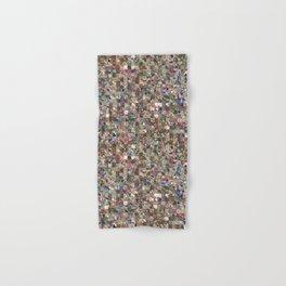 Colorful Quilt Pattern Hand & Bath Towel
