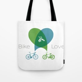 Bike Love Tote Bag