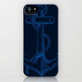 The Pirate's Anchor... Arrgh Matey VI iPhone Case