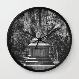 Bonaventure Cemetery Statue Wall Clock