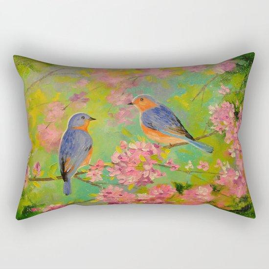 Spring melody Rectangular Pillow