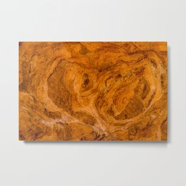 Natural Stone Art-The Cistern, Gold Butte, NV Metal Print