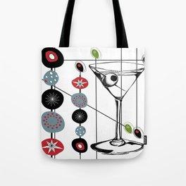 Mid-Century Modern Art Atomic Cocktail 3.0 Tote Bag