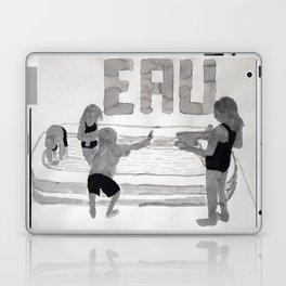 Agua - Eau - Water Laptop & iPad Skin