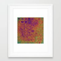 trippy Framed Art Prints featuring Trippy by Lyle Hatch