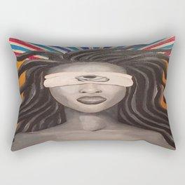 Ajna (Third Eye Chakra) Rectangular Pillow
