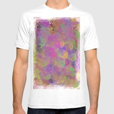 Pastel  Mens Fitted Tee MEDIUM White