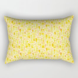 Sunshine Hexagonal Rectangular Pillow