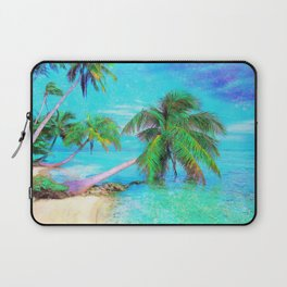 Palms on the Bay Laptop Sleeve