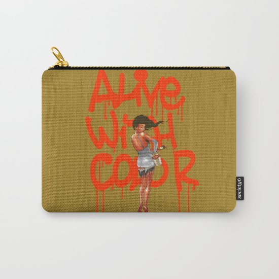 Alive with Color Carry-All Pouch