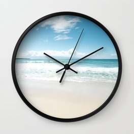 Kapalua Blue Wall Clock