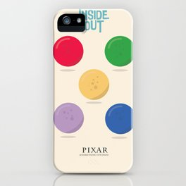 Inside Out - Minimal Movie Poster, animated movie, iPhone Case
