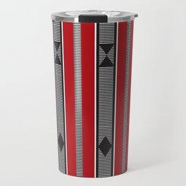 red torogi weave Travel Mug