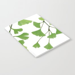 Ginko leaves Notebook
