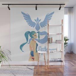 Team Mystic Girl Wall Mural