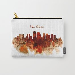 New Orleans watercolor skyline Carry-All Pouch