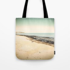 Winter Beach Tote Bag