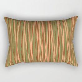 Stripes Discrete Rectangular Pillow