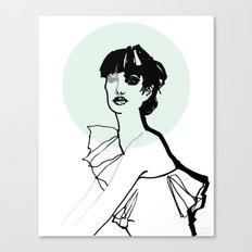 Green Nimbus Canvas Print