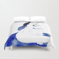 blanket Duvet Covers featuring Star Blanket by Stevyn Llewellyn