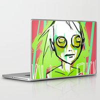 dramatical murder Laptop & iPad Skins featuring MURDER by ASHES