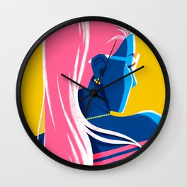 Country Club Summer Wall Clock