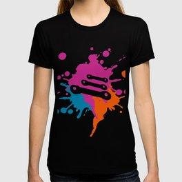 Repairing-Cars  Colorful Splash T-shirt