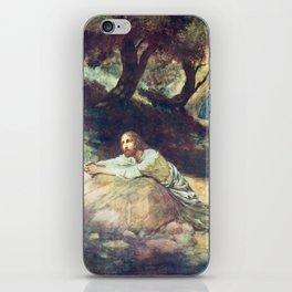 Jesus at Gethsemane iPhone Skin