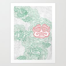 mystical life Art Print