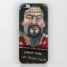 Genghis Khan's Vegas Arrest iPhone Skin