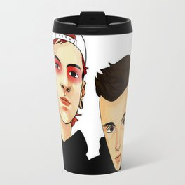 tyler n josh Travel Mug
