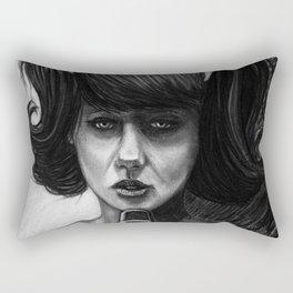 Singer of a Sad Song Rectangular Pillow