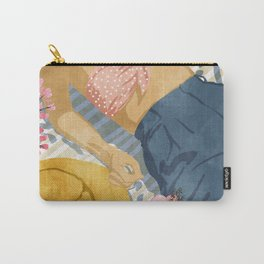 Beach Vacay #society6 #travel #illustration Carry-All Pouch
