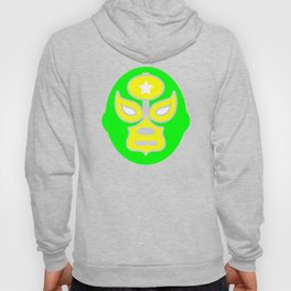 Mexican Wrestling Green Mask Hoody